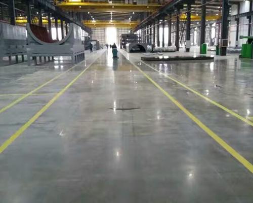 停車場固化地坪